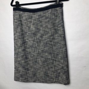 MaxMara textured pattern skirt